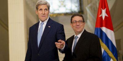 John Kerry y Bruno Rodríguez se reúnen tras apertura de embajada en Cuba