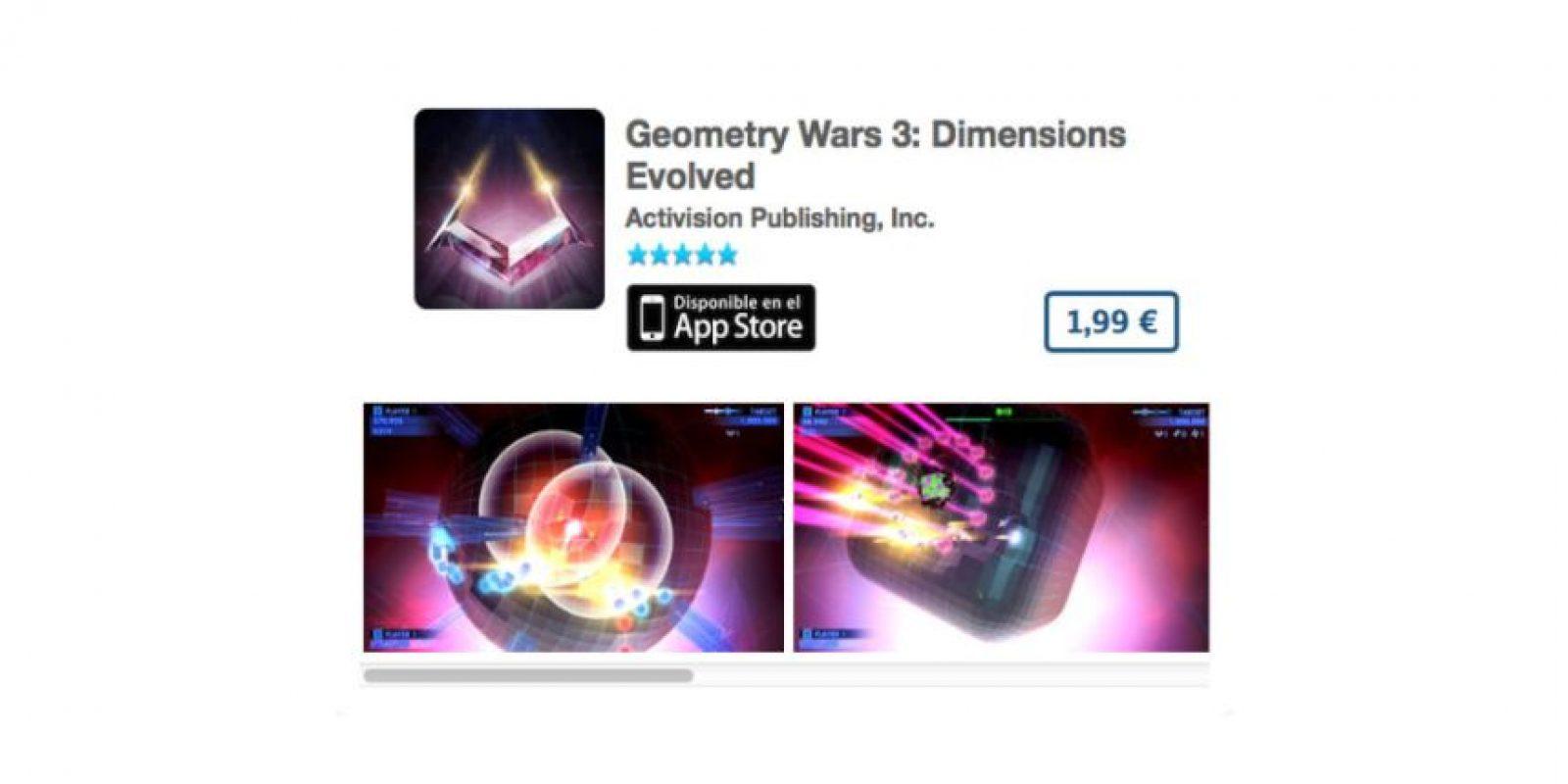 Geometry Wars 3: Dimensions Evolved es un ingenioso puzzle en 3D con gráficas impresionantes Foto:De Activision Publishing, Inc.