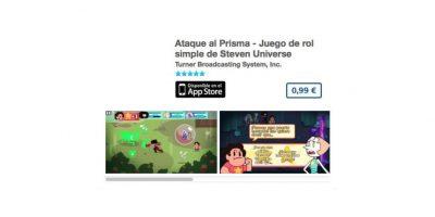 """Ataque al Prisma – Juego de rol simple de """"Steven Universe"""". Precio un dólar Foto:De Cartoon Network"""