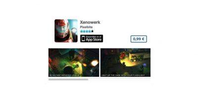 """Xenowerk es un excelente título de acción para los """"gamers"""" más serios. Precio 1 dólar Foto:De Pixelbite"""
