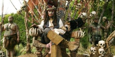 """Fotos: Johnny Depp es oficialmente una """"leyenda"""" en Disney"""