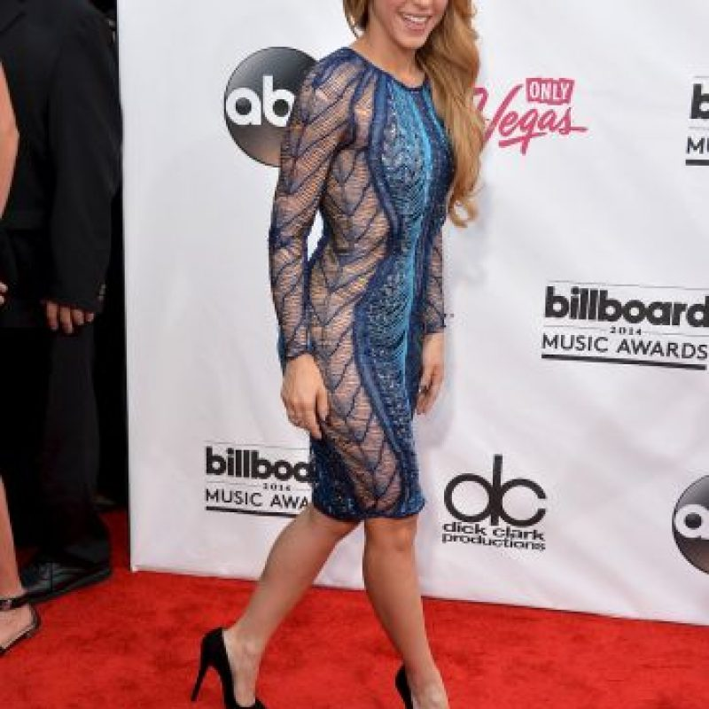 Pierce lo confundió con la cantante colombiana Foto:Getty Images