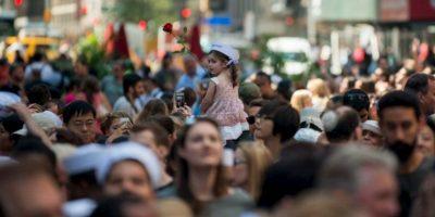 Miles de personas asistieron este año Foto:AFP