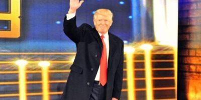 """Donald Trump. El magnate fue representado por Bobby Lashley en la llamada """"Batalla de los Millonarios"""" de Wrestlemania 23 Foto:WWE"""