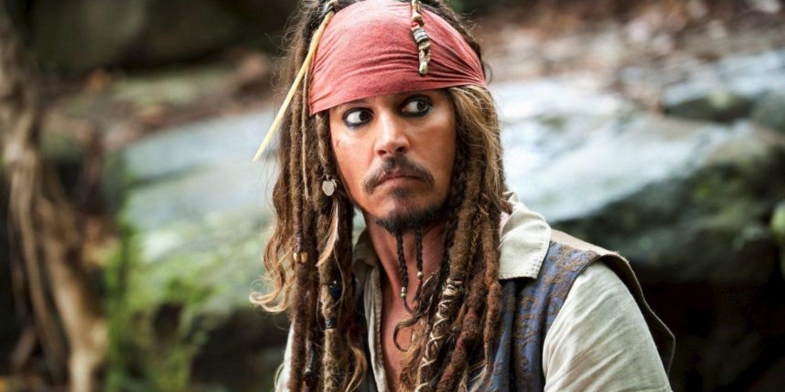 """Capitán Jack Sparrow"" Foto:IMDB"