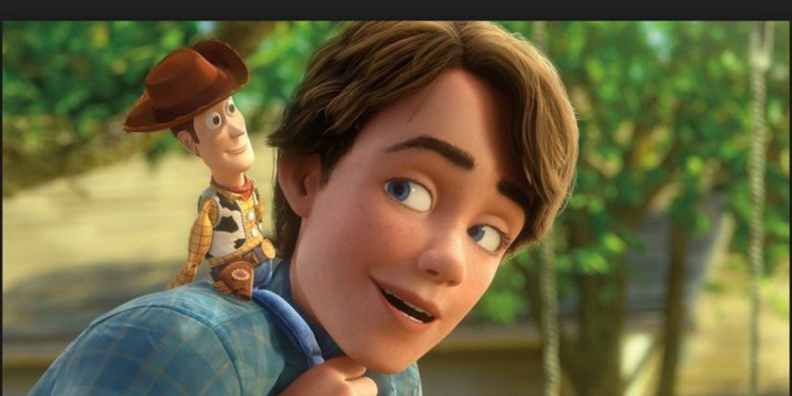 Que en la tercera parte ya tiene 17 años de edad Foto:Disney/Pixar