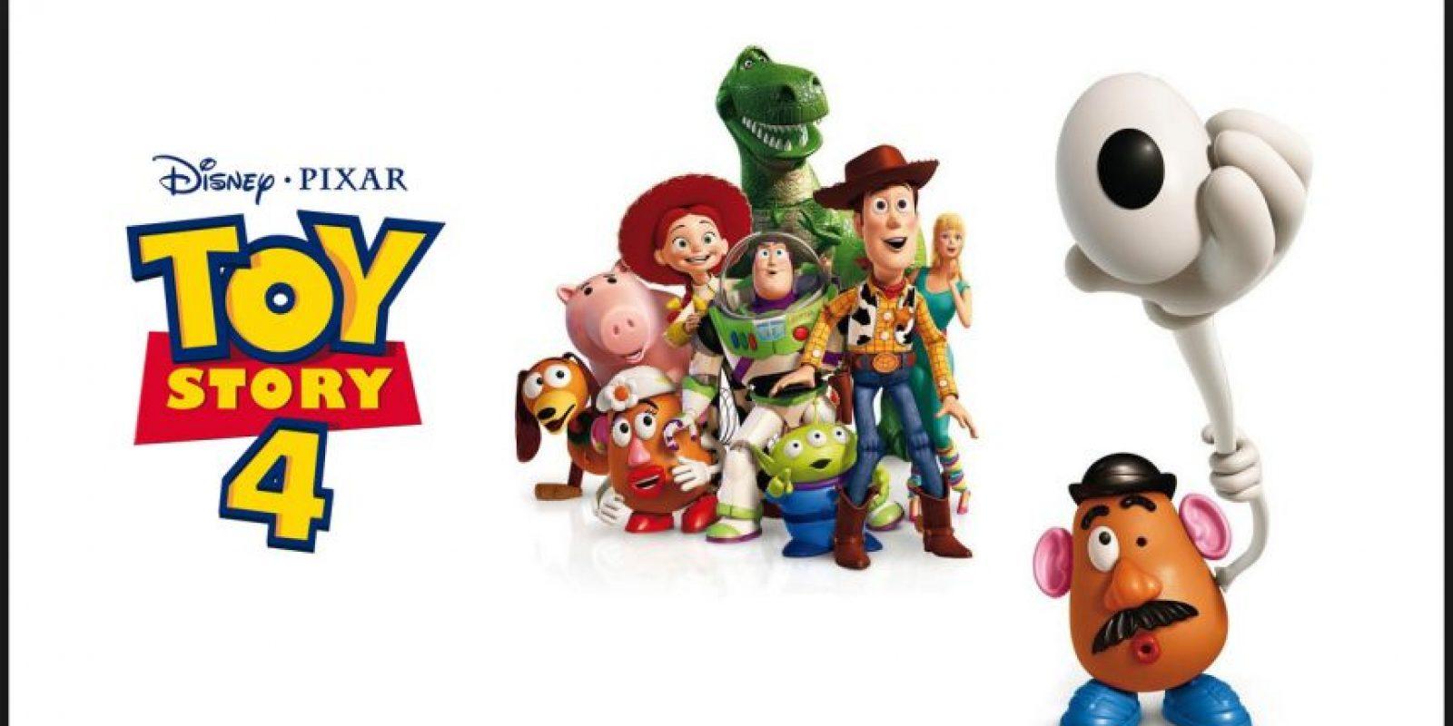 Pixar y Disney ya preparan la cuarta entrega de esta historia que se estrenará el 16 de junio de 2017 en Estados Unidos Foto:Disney/Pixar