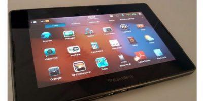 En el año 2011 se lanzó el iPad y BlackBerry quiso imitar a Apple. El resultado no fue el esperado y las tabletas de esta marca ahora son una reliquia Foto:BlackBerry