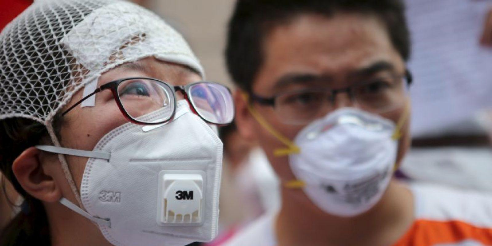 Los familiares y desplazados buscan respuestas Foto:AFP