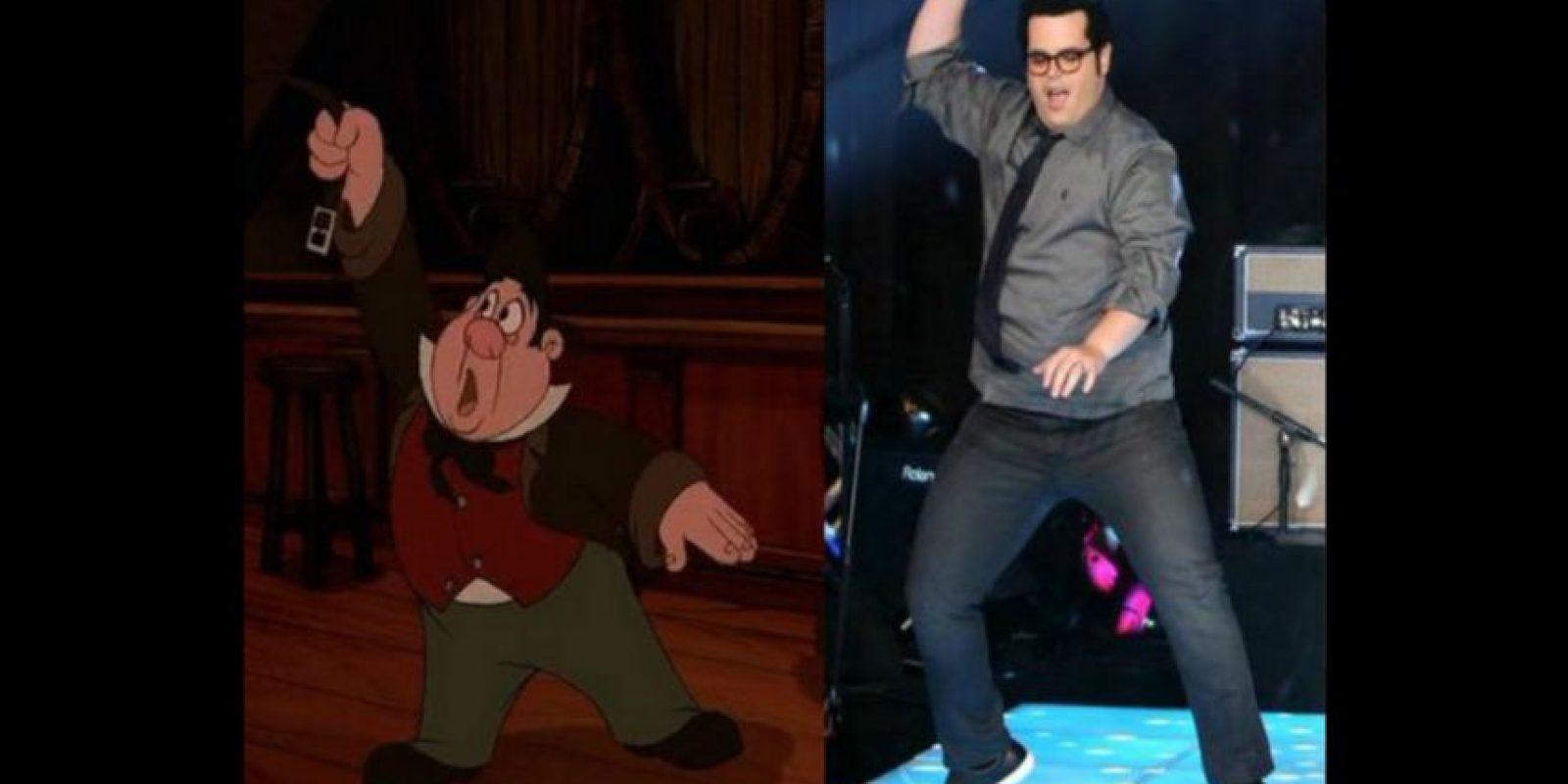 """Josh Gad será """"Le Fou"""", la mano derecha del villano """"Gastón"""". Foto:Twitter/joshgad"""