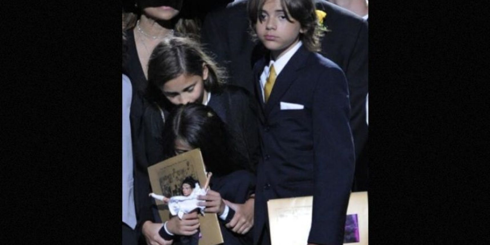 El mundo conoció sus rostros en el funeral de su padre. Foto:Getty Images