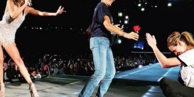 Julia Roberts invadió el escenario de Taylor Swift