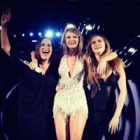 Mariska Hargitay y Cara Delevingne Foto:Instagram/TaylorSwift