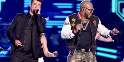 "Junto a Flo Rida cantó ""I Don't Like It, I Love It"" Foto: Getty images"