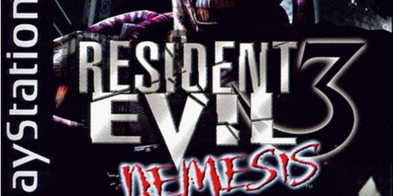 """Un año después, llegaría la tercera parte con el nombre """"Nemesis"""" Foto:Capcom"""