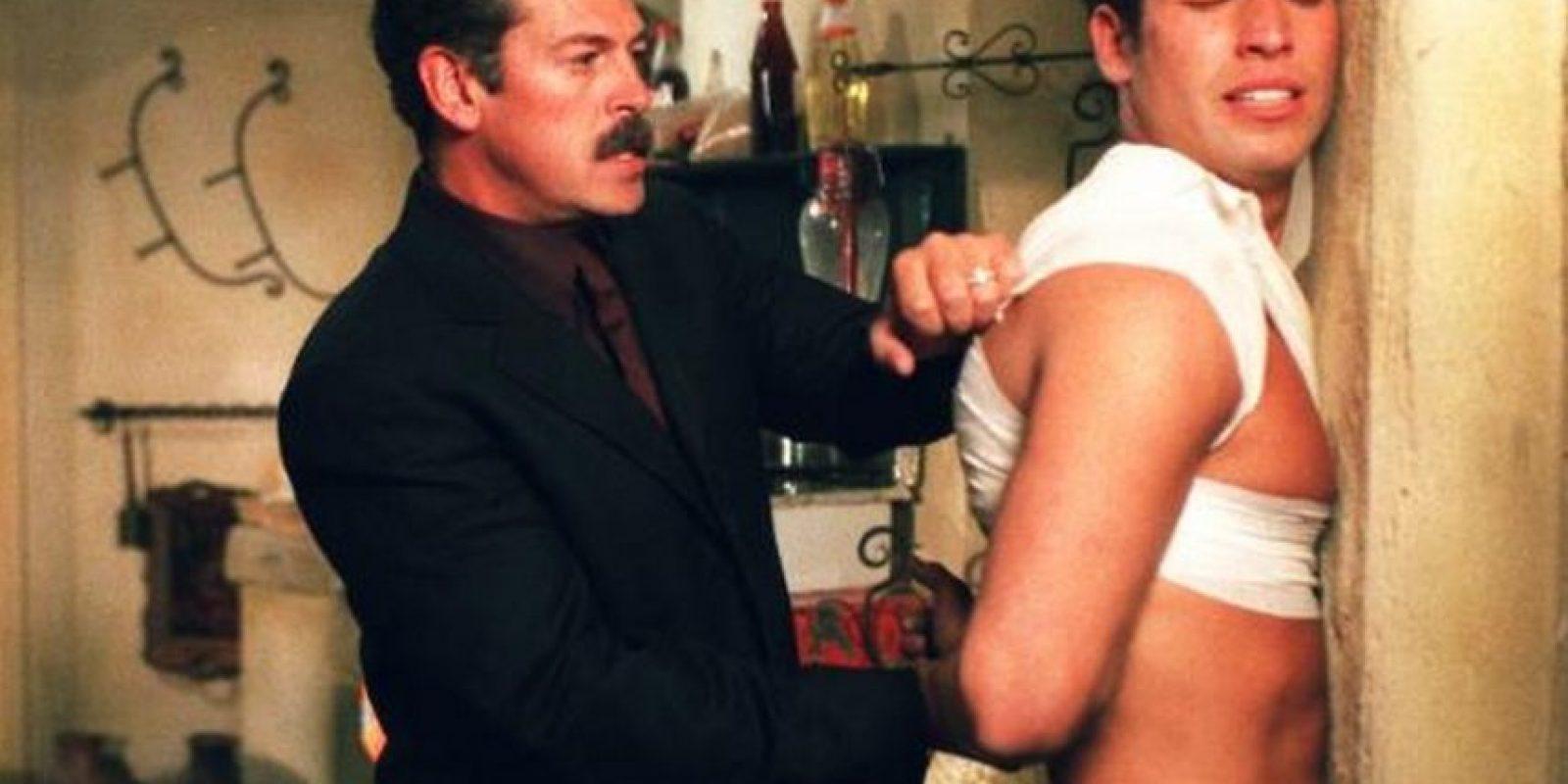 """En 2001 protagonizó """"Sin pecado concebido"""" Foto:Tumbrl"""