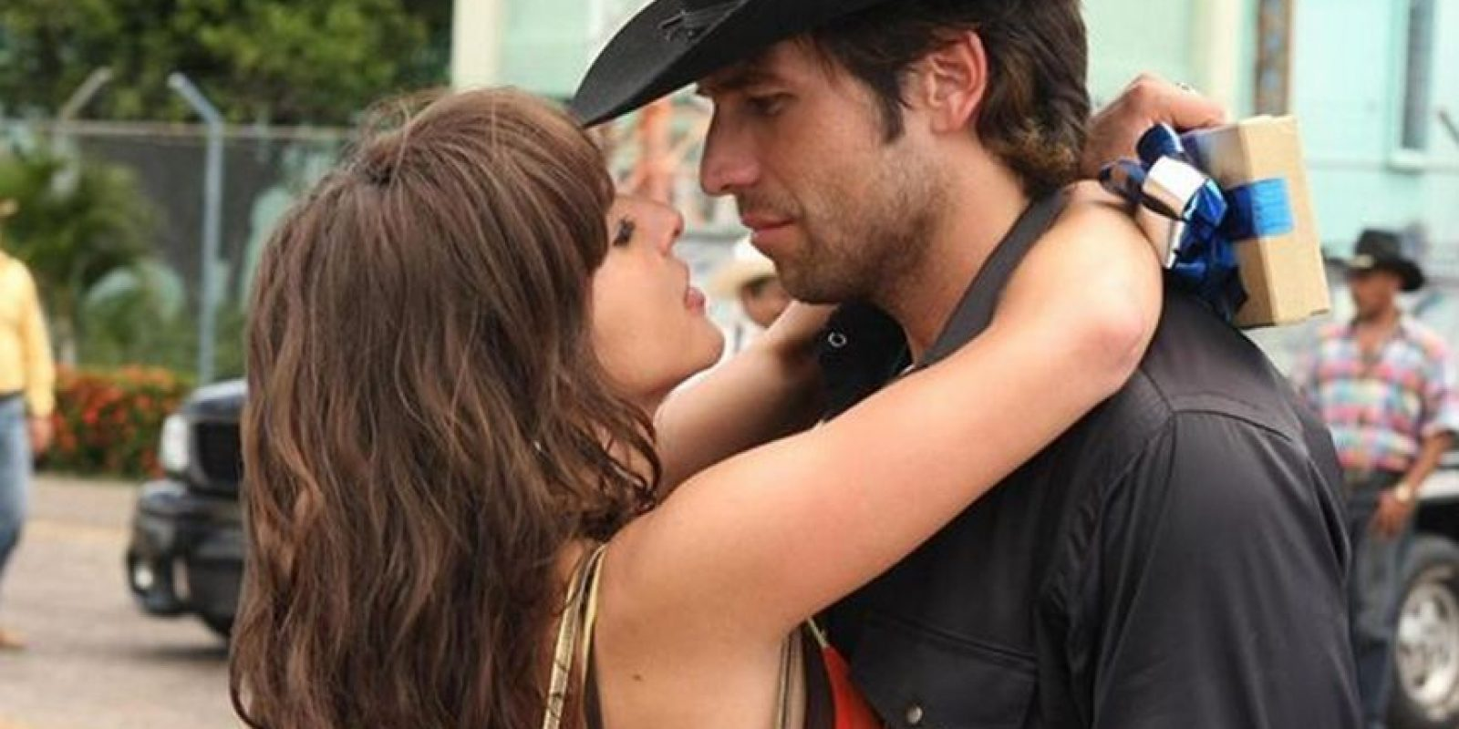 Junto a Kate del Castillo Foto:Tumbrl