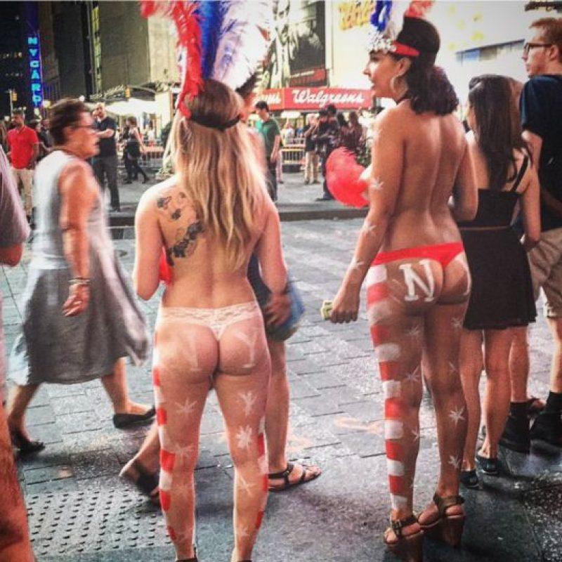Los turistas las encuentran en Times Square. Foto:Vía instagram @6eE9ctIZe6