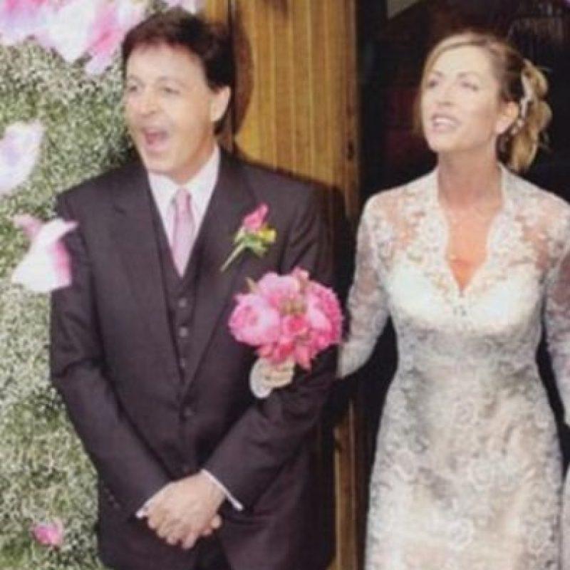 Paul McCartney y Heather Mills se gastaron 3 millones de dólares. Foto:People