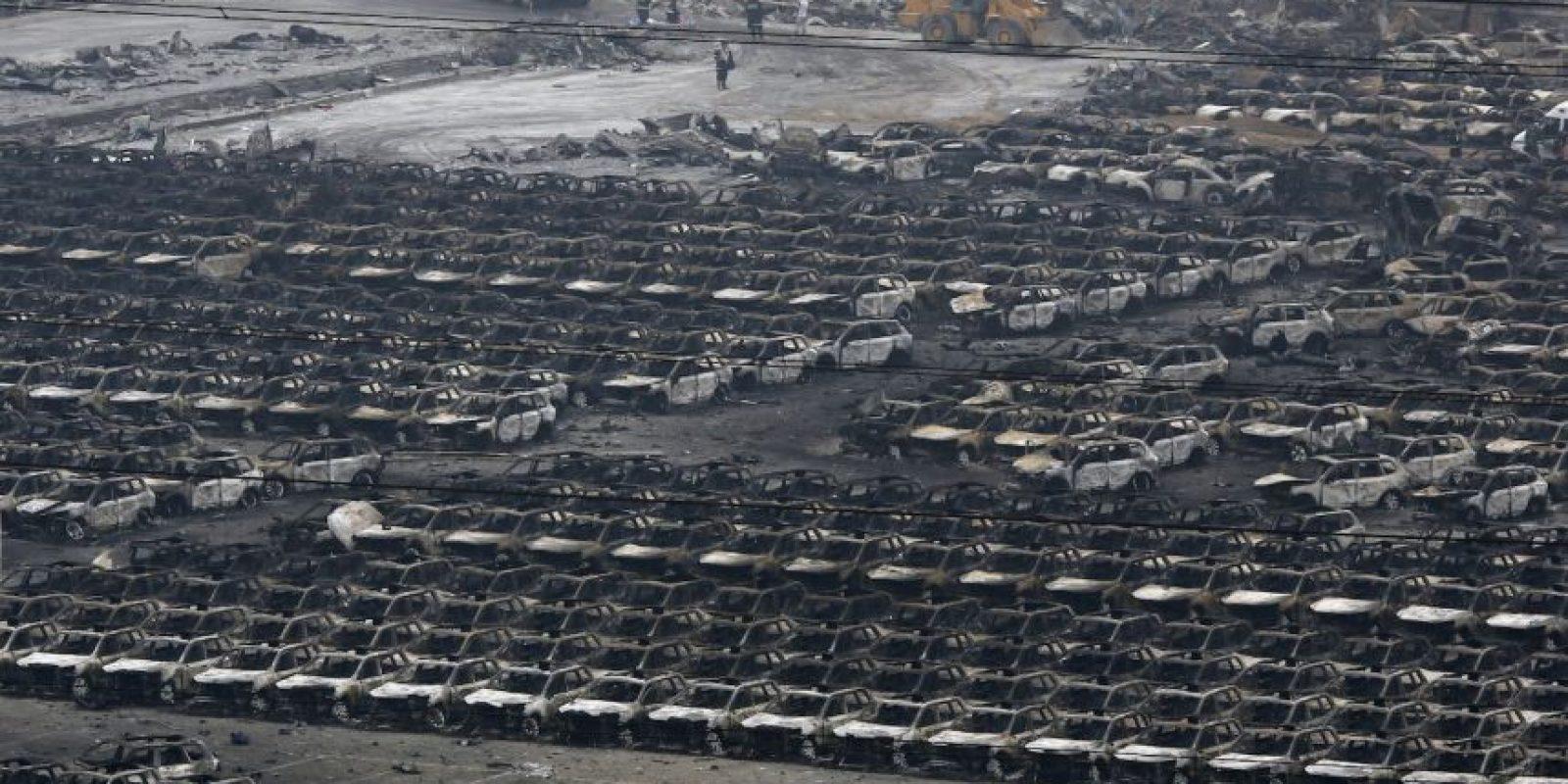 El 40% de los automóviles importados por China pasan por este puerto Foto:AP