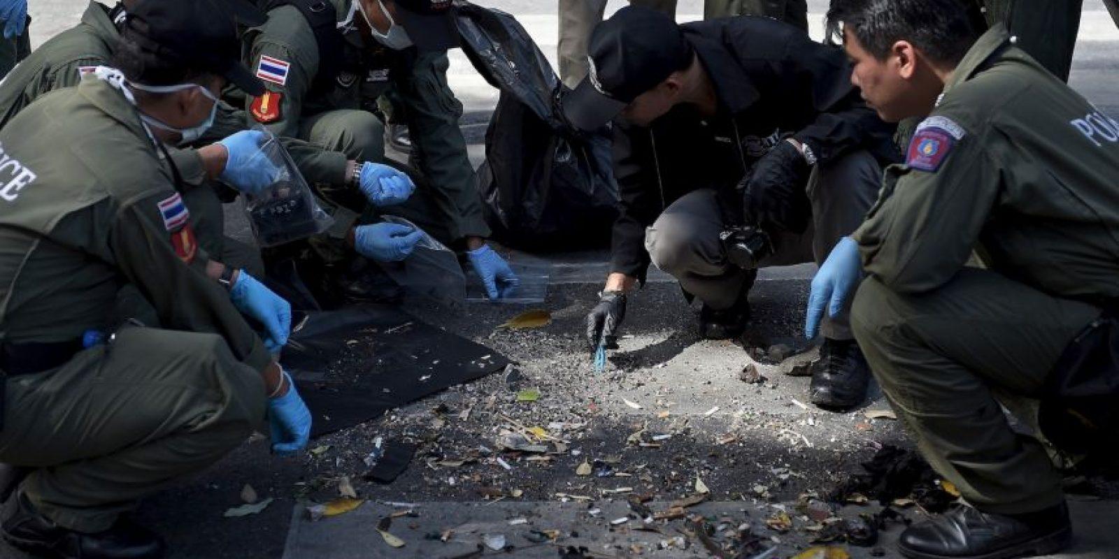 Un segundo ataque puso alerta a las autoridades de Bangkok. Foto:AFP