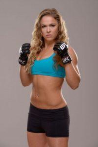 Ronda Rousey es la campeona invicta del peso gallo de mujeres de la UFC. Foto:Getty Images