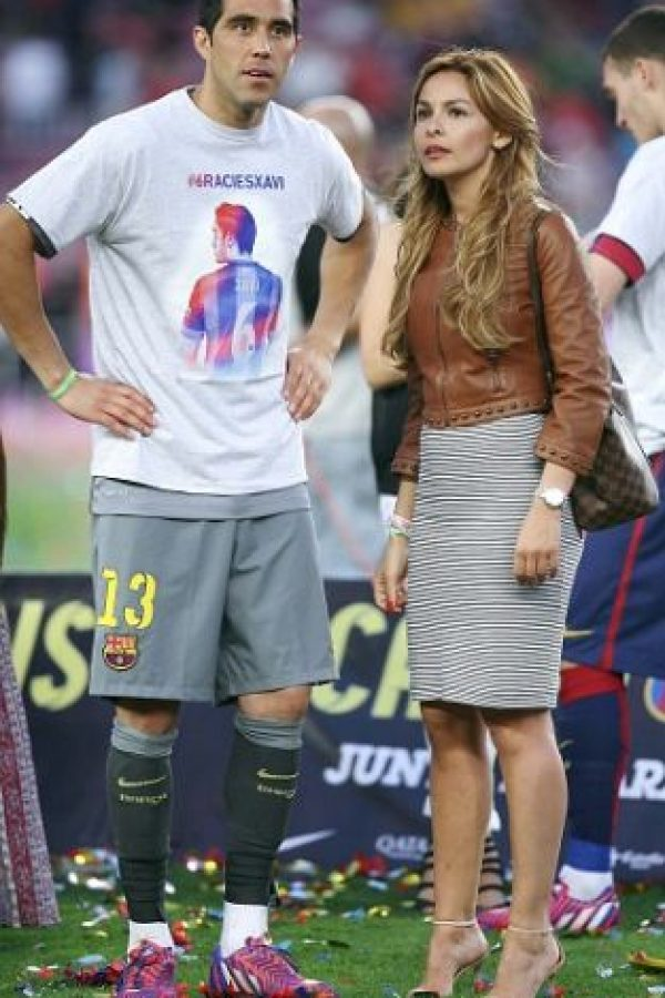 Aunque en Champions League, fue relegado a la banca, pues el titular fue Marc-André Ter Stegen. Foto:Getty Images