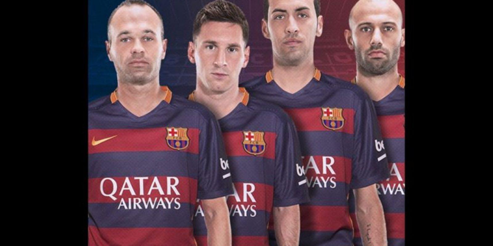 2. Barcelona (España) Foto:Vía instagram.com/fcbarcelona
