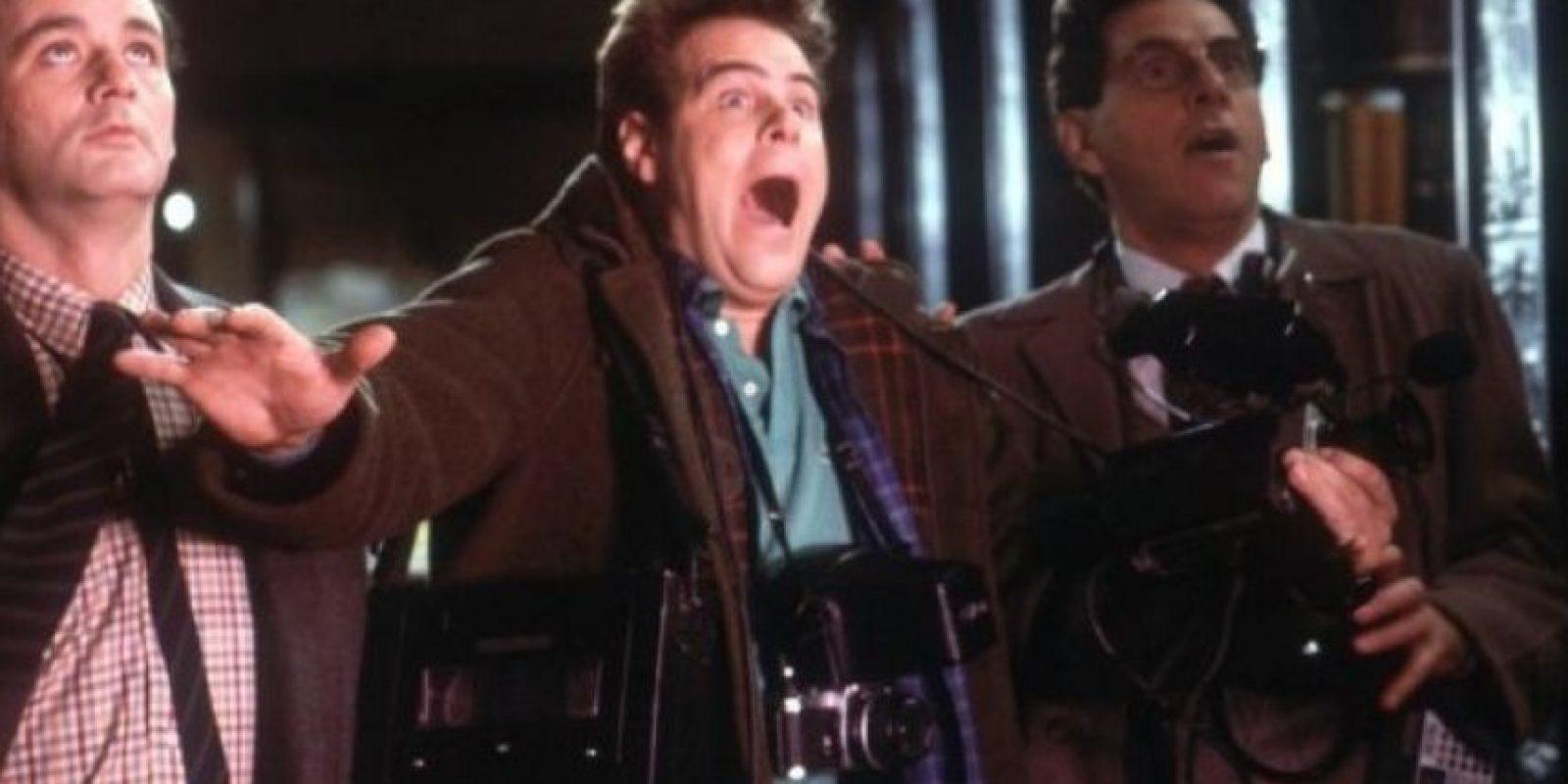 """Dan Aykroyd (""""Ray Stantz"""") también participará en la nueva cinta. Foto:IMDb"""