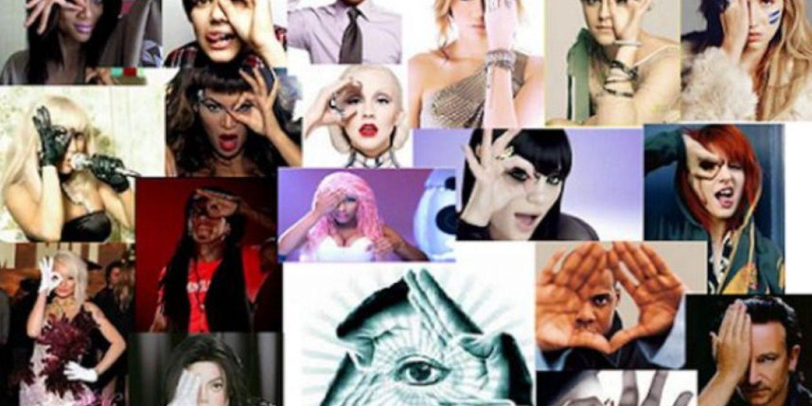 Según varias páginas de chismes y de asuntos religiosos, algunos famosos han sido acusados de vender su alma a Lucifer o a los Illuminati, que para ellos es exactamente lo mismo. Foto:vía Tumblr