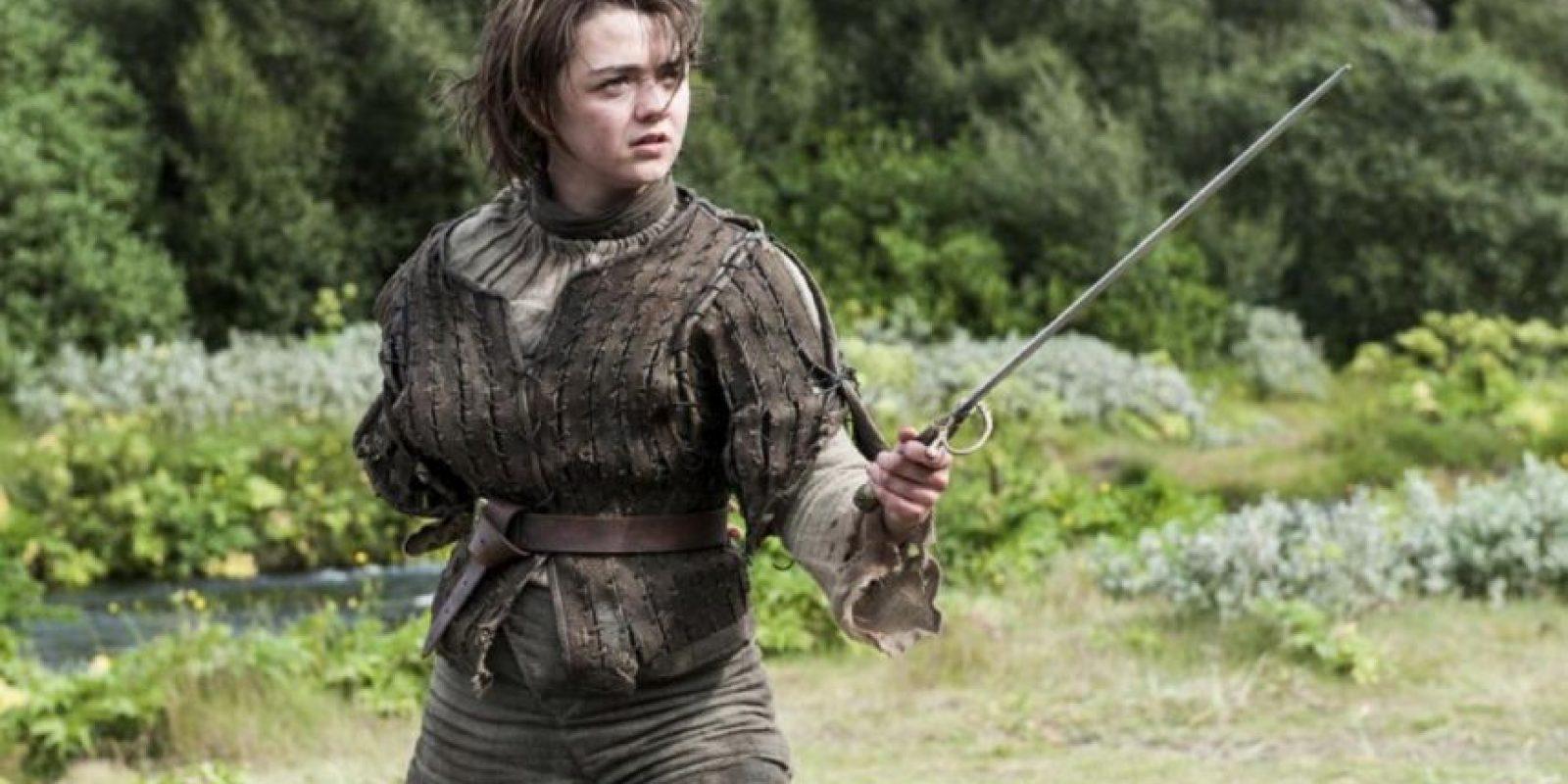 187 niñas nacidas el año pasado recibieron el nombre de Arya Stark. Foto:Vía HBO