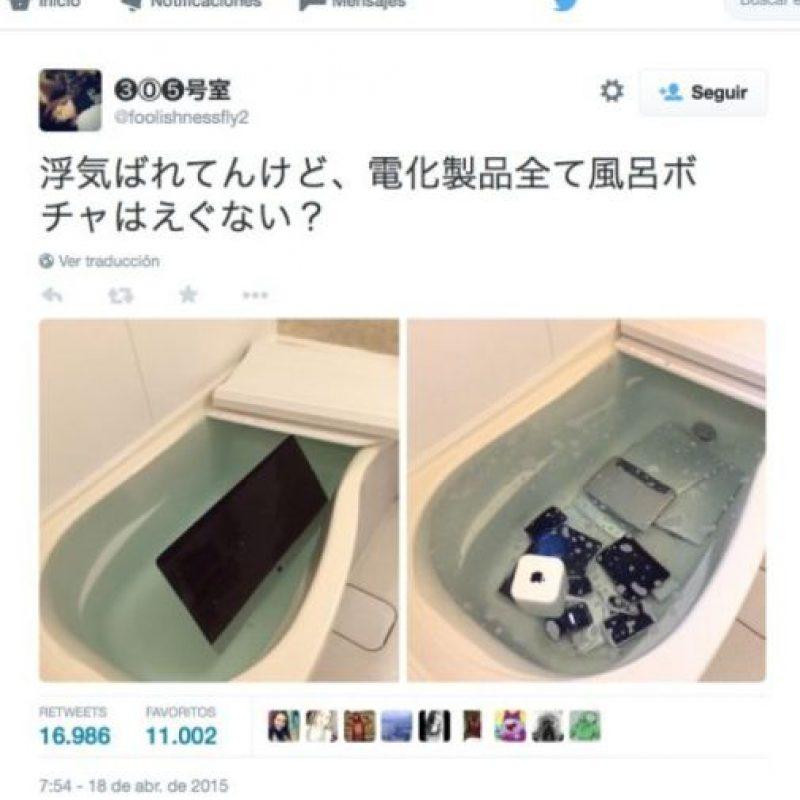Su gesto se hizo viral. Foto:vía Twitter