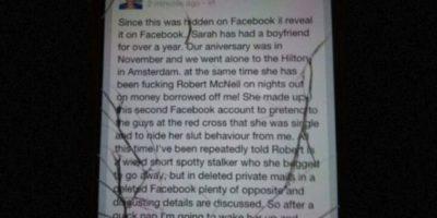 Otros hackean sus redes sociales y arruinan su reputación. Foto:vía Facebook