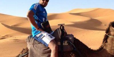 Huyó a Marruecos y no se privó de nada. Foto:vía Facebook