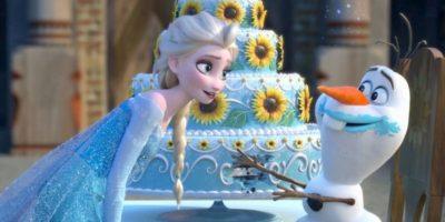 El pastel se hizo viral. Foto:vía Disney
