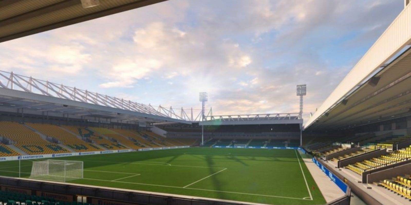 Carrow Road (Norwich City, Barclays Premier League) Foto: EA Sports