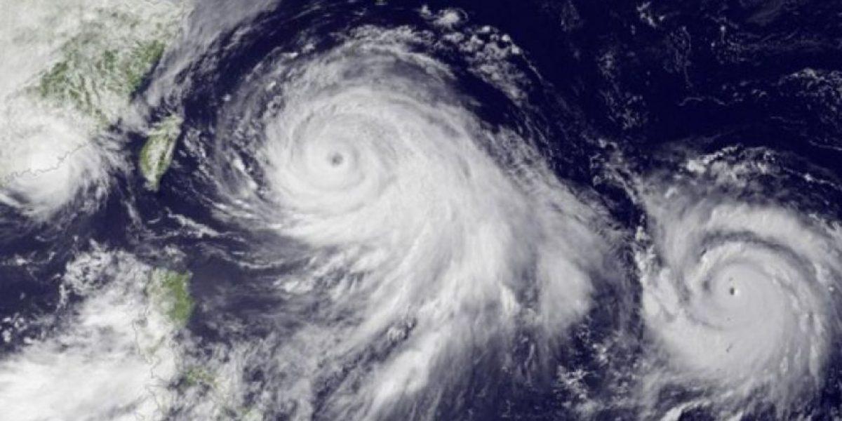 Súper tifones gemelos se formarán en el Océano Pacífico