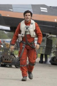 X-Wing Pilot Poe Dameron, interpretado por Oscar Isaac. Foto:Lucasfilm