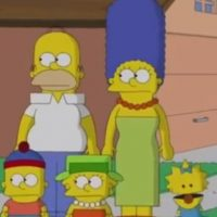 """""""Los Simpson"""" al estilo de South Park Foto:FOX"""