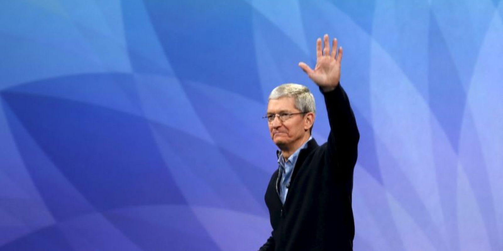Tim Cook. El CEO de Apple nació en Alabama, Estados Unidos, hace 54 años: el 1 de noviembre de 1960. Foto:Getty Images