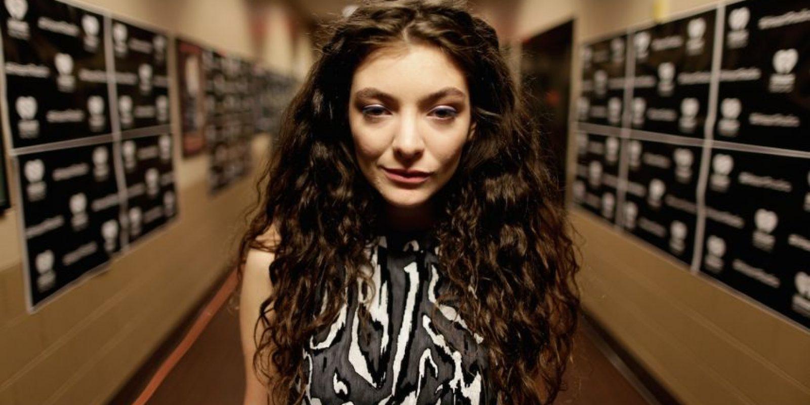 """En 2013, durante nueve semanas, logró posicionar su sencillo """"Royals"""" como uno de los más populares de la lista """"The Hot 100"""" de la revista """"Billboard"""". Foto:Getty Images"""