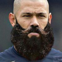 Así luciría el paraguayo con barba Foto:Twitter