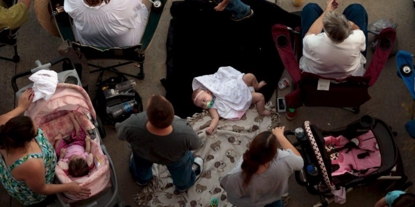 Brittany Pilkington reportó a las autoridades la muerte de su hijo. Foto:Getty Images