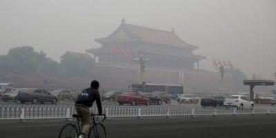Los sistemas de calentamiento de carbón en China son considerados los principales culpables de la liberación de partículas contaminantes al aire. Foto:Getty Images