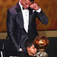 Tiene un hijo que se llama Cristiano, como él, y vive con el deportista. La identidad de la madre nunca se ha revelado Foto:Getty Images
