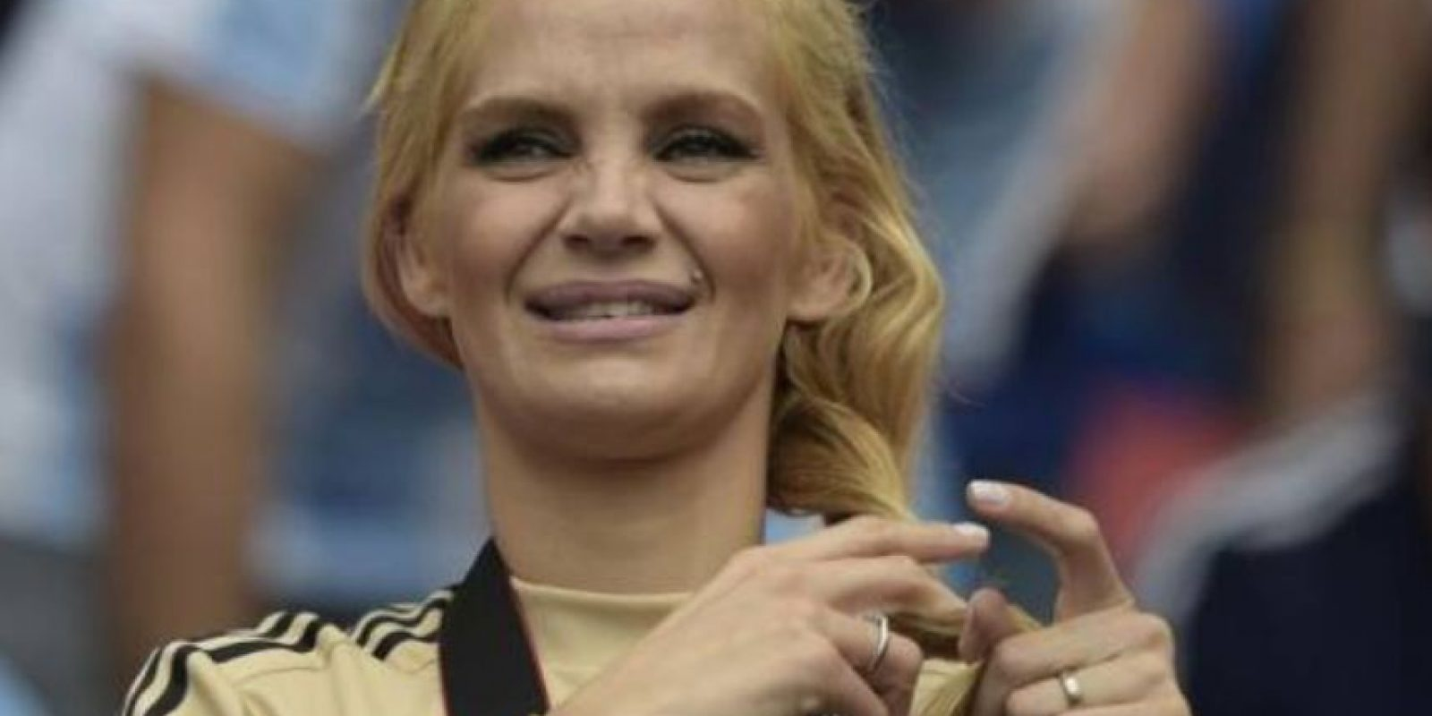 "Eliana negó haber tenido un ""affaire"" con Agüero Foto:Getty Images"