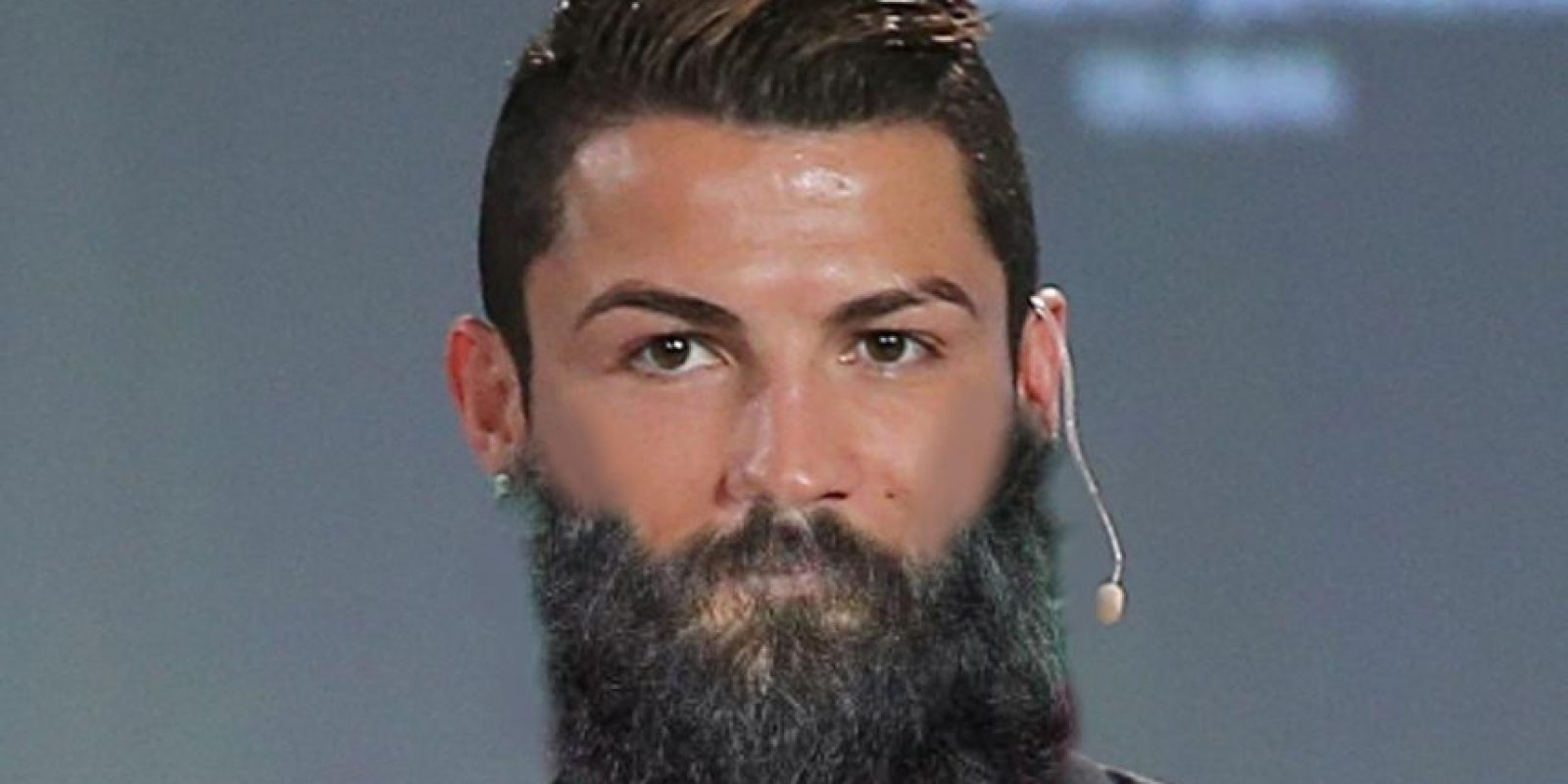 ¿Les gustaría el crack del Real Madrid con abundante barba? Foto:Twitter