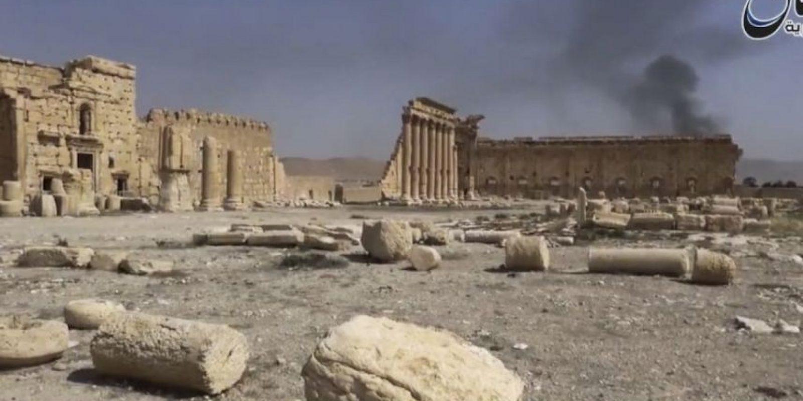El grupo terrorista ha causado la destrucción de distintas figuras históricas en Palmira. Foto:AP