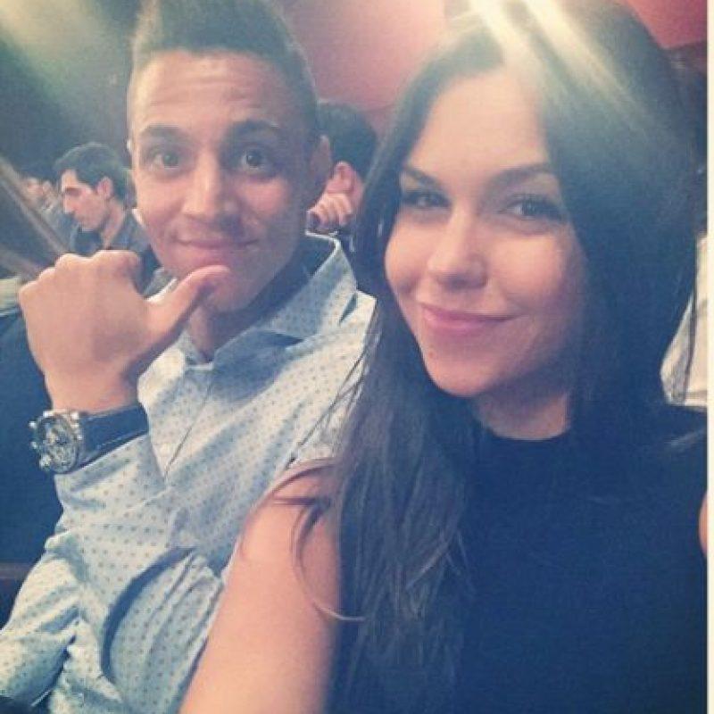 Es pareja de Rodrigo Moreno, futbolista del Valencia. Foto:Vía instagram.com/yaiyai_5