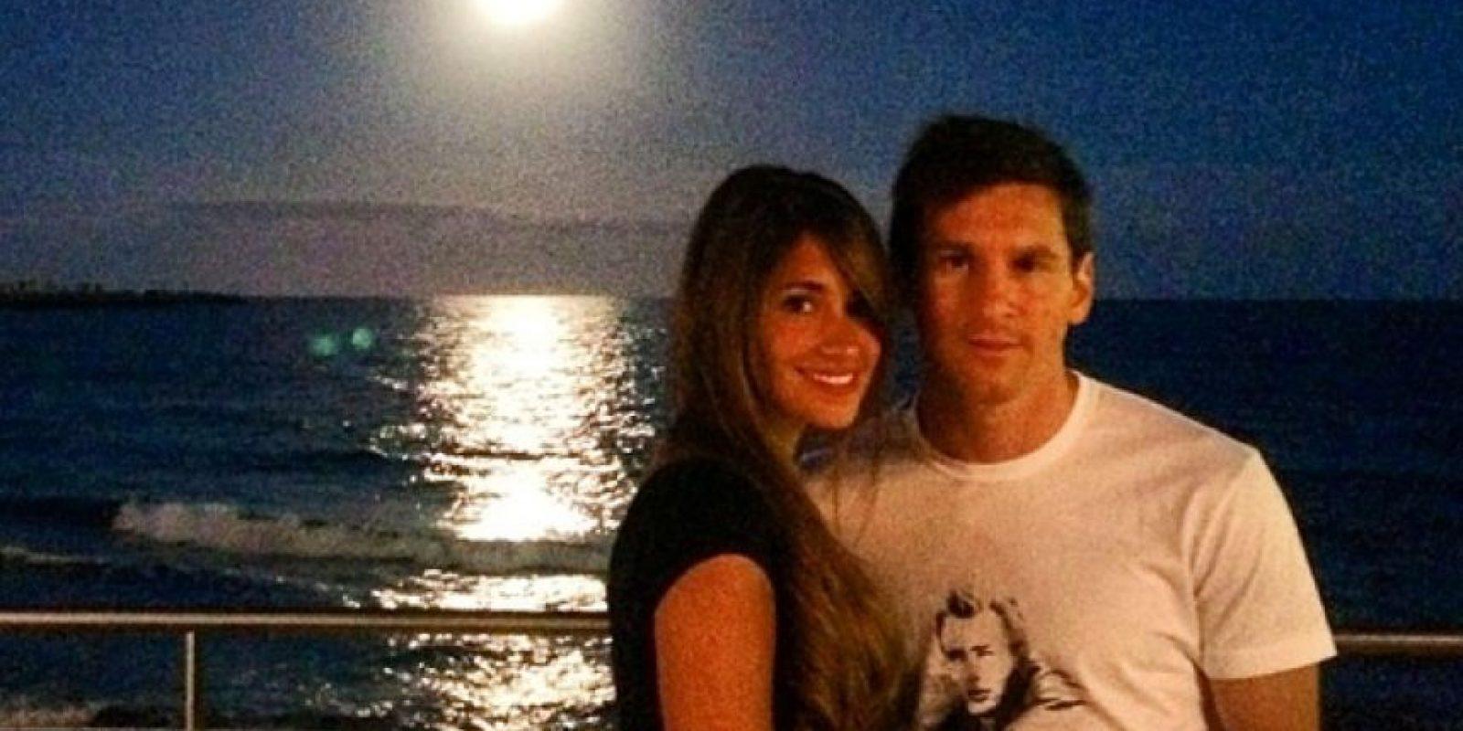 La pareja de Lionel Messi es una de las más bellas y famosas de la Liga de España. Foto:Vía instagram.com/antoroccuzzo88